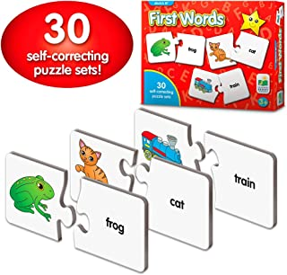 The Learning Journey: Match It! - First Words - 30 Self-Correcting Words with Matching Images For Emerging Readers