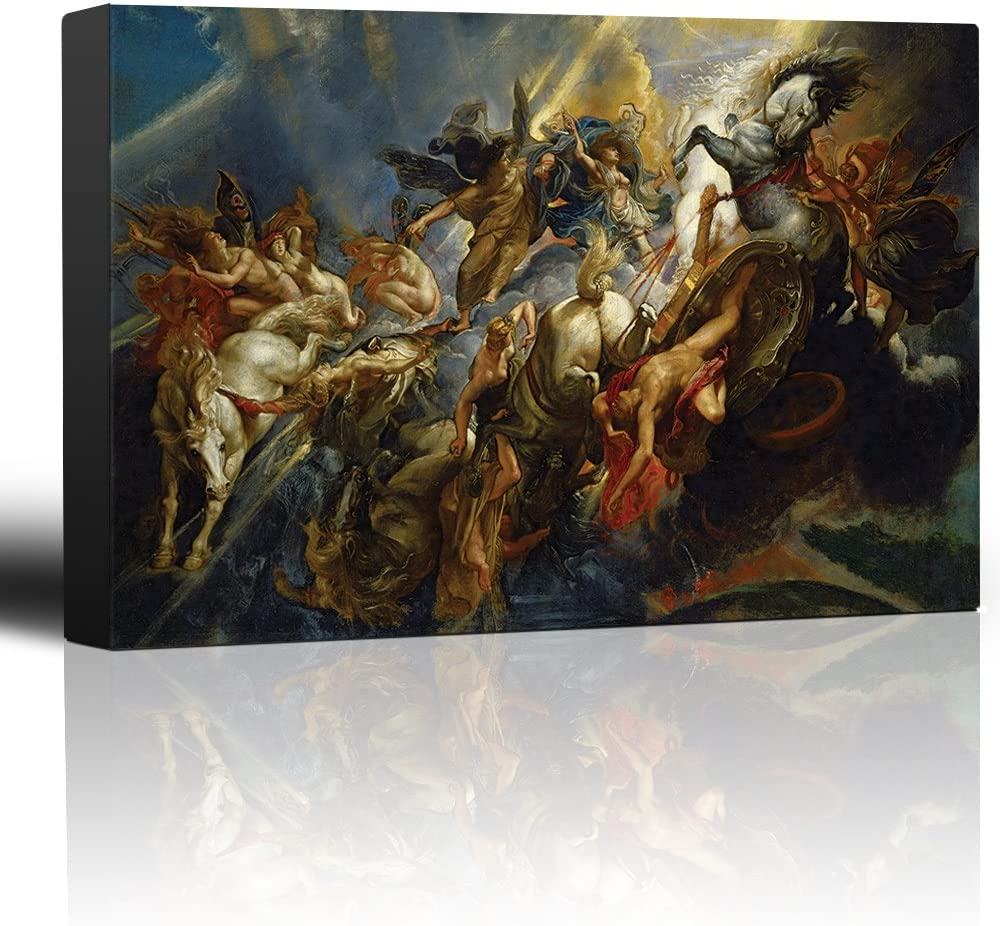 wall26 - Oil Painting of service The Ruben Paul by Peter Safety and trust Phaeton Fall