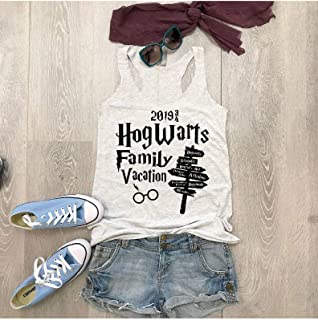 Hogwarts Family Vacation/True To Women's Fit/Women's Eco Tri-Blend Tanks//Universal Trip Shirt/Harry Potter Clothing/Triblend Tank/Free Shipping//