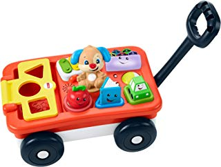 Fisher-Price Laugh & Learn Pull & Play Learning Wagon, Multi Color