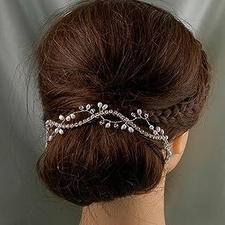 Jovono Wedding Hair vine Headpiece Hair Accessory for Women