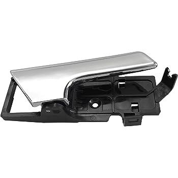 BOXI Inside Interior Inner Door Handle Chrome RH Passenger Side for Chevy Aveo G3 Wave 96462710