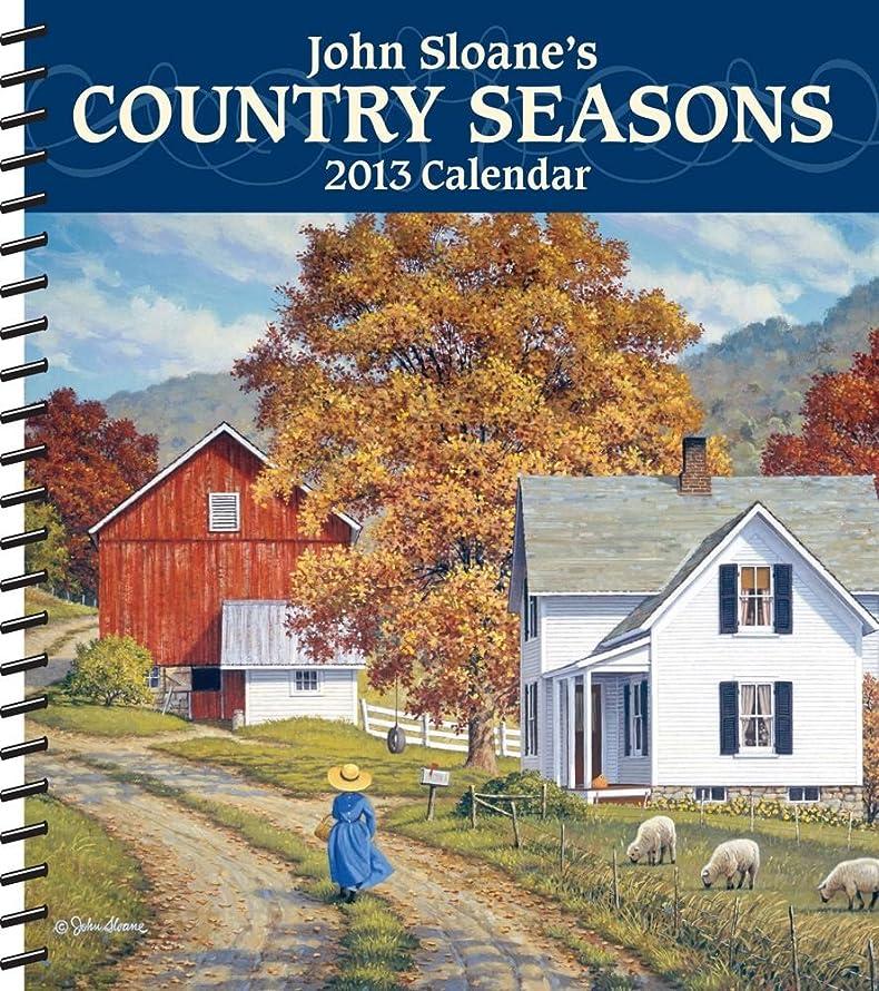 もの偽物管理するJohn Sloane's Country Seasons 2013 Weekly Planner Calendar