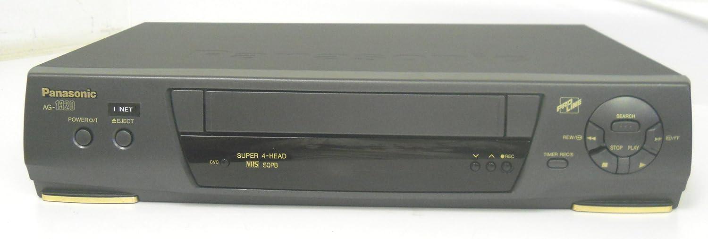 Panasonic VCR Minneapolis Mall AG-1320 AG1320P Pro Line Max 43% OFF Super 4 Vid Head SQPB VHS