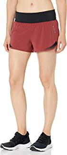 "Core 10 Amazon Brand Women's (XS-3X) Knit Waistband Run Short Brief Liner - 2.5"" Shorts"