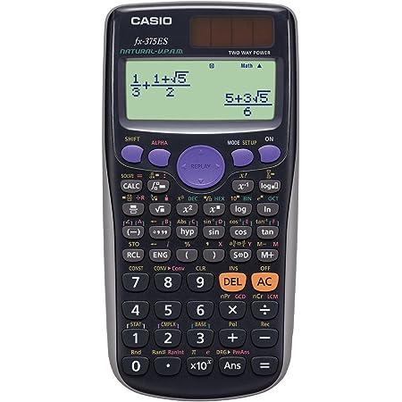 カシオ 関数電卓 微分積分・統計計算・数学自然表示 394関数・機能 fx-375ES-N ブラック