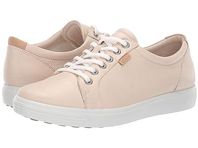 ECCO Soft 7 Sneaker (Vanilla Metallic Cow Leather) Women