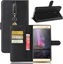 Lenovo PHAB 2 Pro Wallet Case, Premium PU Leather Flip Folio Wallet Case with Card Slot, Stand Holder and Magnetic Closure [TPU Shockproof Interior Case] Compatible with Lenovo PHAB 2 Pro