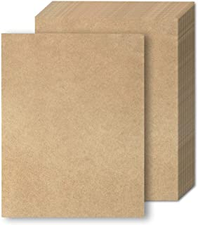 Brown Kraft Paper - 48-Pack Letter Sized Stationery Paper 8.5 x 11 Inches