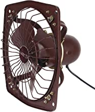 A&Y® (Heavy Duty) Metal Fresh Air Exaust Fan for Kitchen/Bathroom (Blade Size225 MM/9 Inches), Black(Copper Winding)