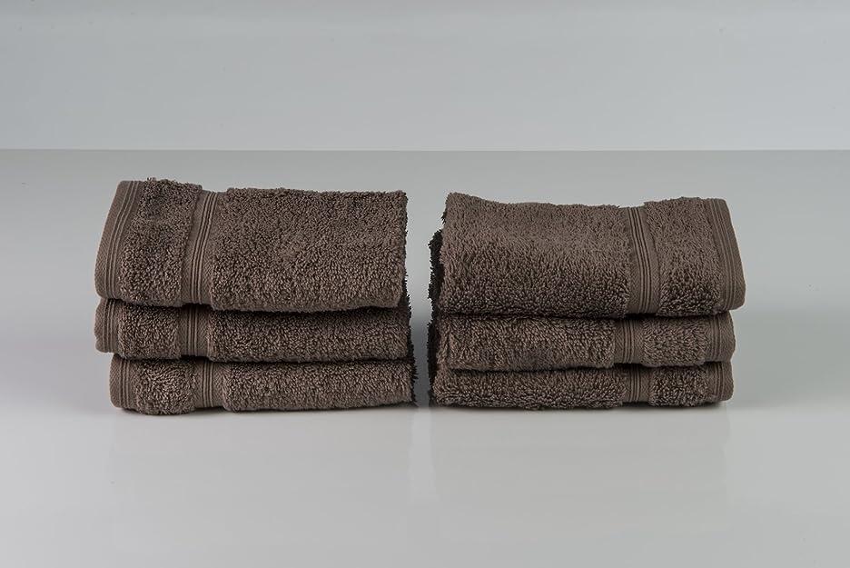 封建ミュウミュウ石膏13?x 13綿100?%トルコ、非遺伝子組み換え作物、Luxury Line Washcloth set-6?PC