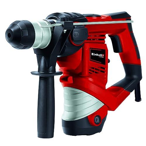 Einhell TH-RH 900/1 Martillo perforador con mecanismo percutor neumático 900 W, 240 V, 3 funciones, tope de profundidad (ref. 4258237)