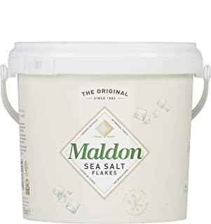 Maldon Salt Company, Sea Salt Flakes, (1.5 kg tub), 3.3 Pound (1 Count)