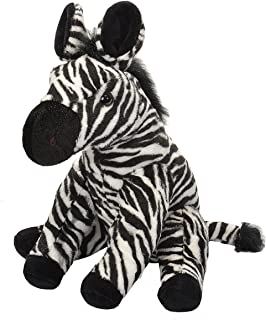 Wild Republic Zebra Plush, Stuffed Animal, Plush Toy, Gifts for Kids, Cuddlekins 12 Inches