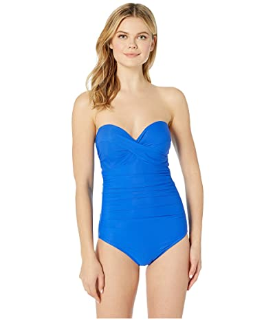 Miraclesuit Rock Solid Madrid One-Piece (Delphine Blue) Women