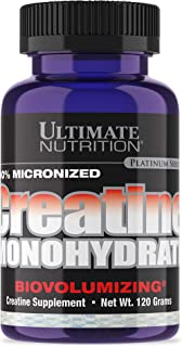 Micronized Creatine Monohydrate Powder - 120g