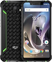 HOMTOM ZOJI Z33 Rugged Phone 3GB+32GB 4600mAh Battery 5.85 inch Android 8.1 MTK6739 Quad Core up to 1.5GHz GSM & WCDMA & FDD-LTE (Green)