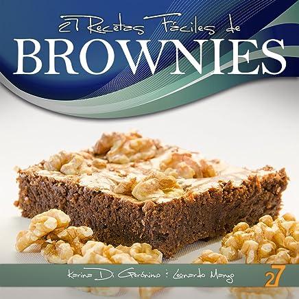 27 Recetas Fáciles De Brownies Recetas De Cocina Faciles