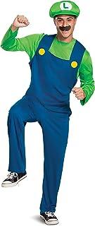 Disguise Super Mario Classic Luigi Costume for Adults