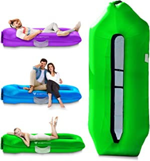 [2020 Version] Icefox Inflatable Lounger Air Sofa, Inflatable Pool Floats,Water Proof& Anti-Air Leaking Design-Ideal Couch...