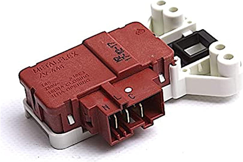 ALGOMAS® Interruptor eléctrico blocapuertas microretardo lavadora FAGOR 2F311, 3F3614X, FE1047 Otras: ASPES, BRANDT, EDESA, SMEG, THOMSON, VEDETTE, WHITE-WESTINGHOUSE L39A004I8 L39A006I3 AS0031771