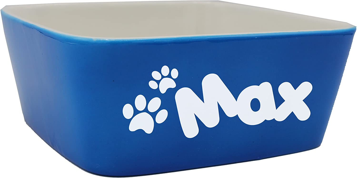 Dog or cat bowl food or water bowl Personalized 6-inch Ceramic Pet Bowl #DB70-CH