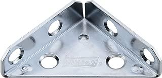 Stanley N337-675 National Hardware Corner Braces, 2 In L, Steel, Zinc Plated