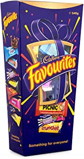 Cadbury Favourites Chocolate Gift Box (Made in Australia) (540g (1.2 lb))
