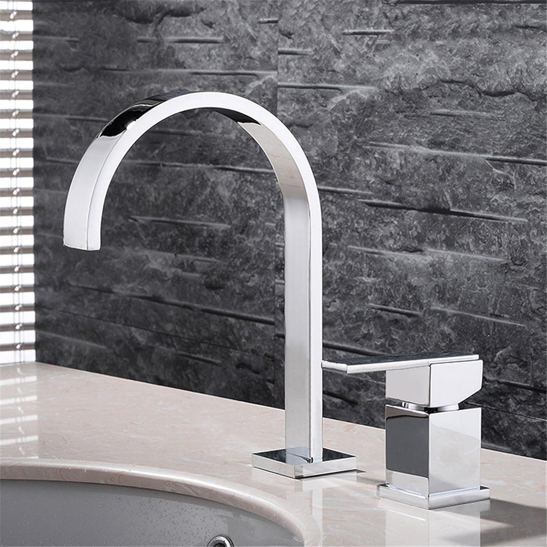 LHbox Bad Armatur in Bad für Waschbecken Waschtisch Wasserhahn Waschtischarmatur Alle Kupfer Continental Split Zwei Lcher, 3 Lcher Waschtischmischer heie und Kalte Waschbecken Armaturen