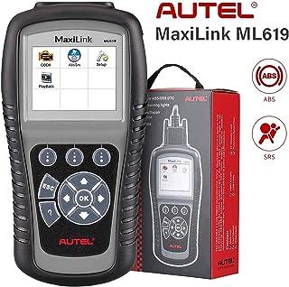 Autel ABS SRS OBD2 Scanner, Autel Scanner Maxilink ML619, Upgraded Version of AL619, Check Engine Code Reader with 10 OBD2...