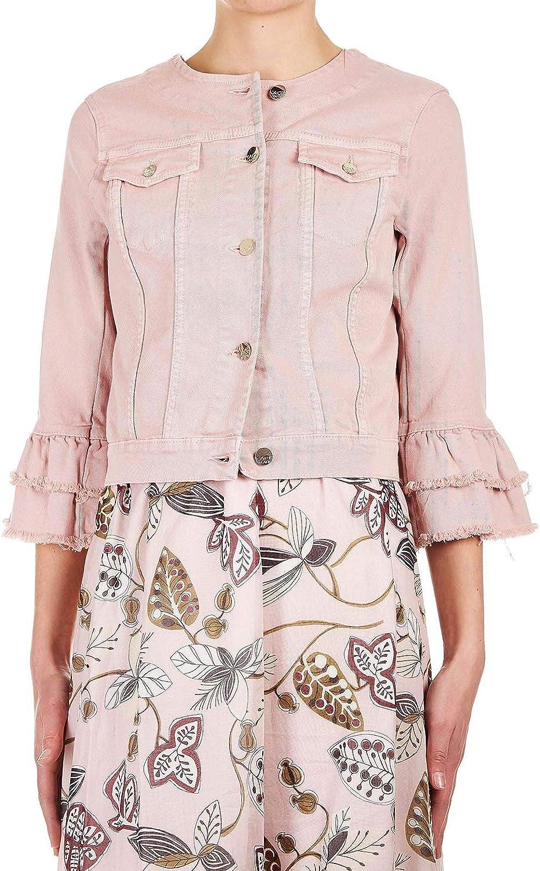 Kaos Women's LPJDC0248040 Pink Cotton Jacket