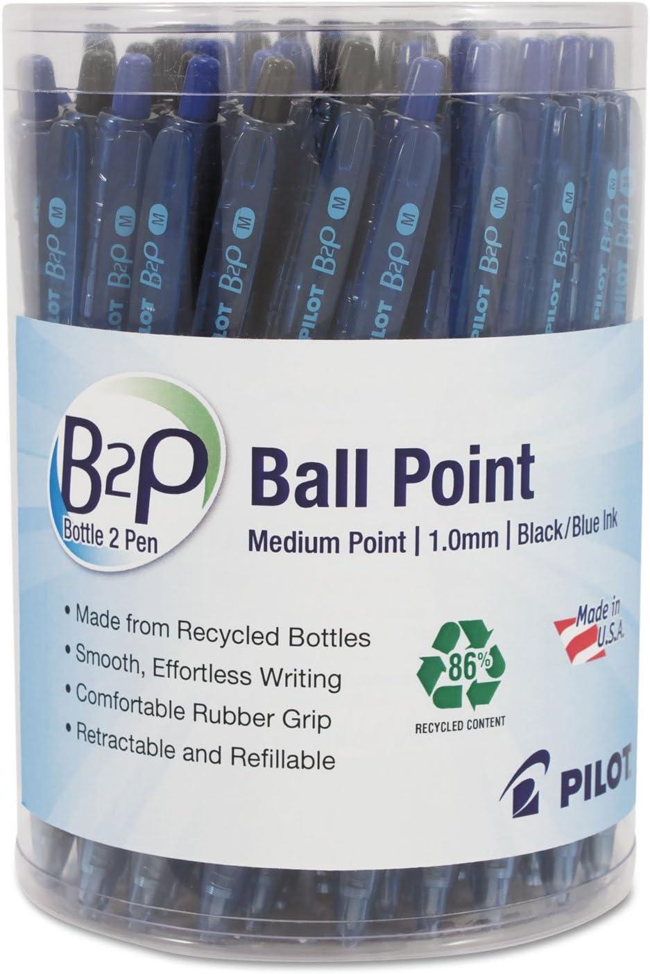 Pilot 57050 B2P Bottle-2-Pen Recycled Ball Pen Point Retractable Sale item Don't miss the campaign