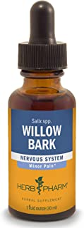 Herb Pharm Willow Bark Liquid Extract for Minor Pain - 1 Ounce (DWILL01)