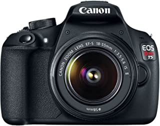 Canon EOS Rebel T5 18.0MP Digital SLR Camera Kit with EF-S 18-55mm IS II Lens - Black (Renewed)