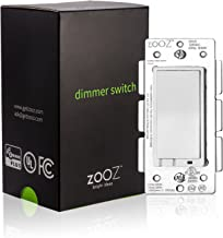 Zooz Z-Wave Plus Wall Dimmer Switch ZEN22 (White) VER. 3.0, Works with Existing Regular 3-Way Switch