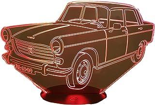 PEUGEOT 404, lampada da salotto 3D