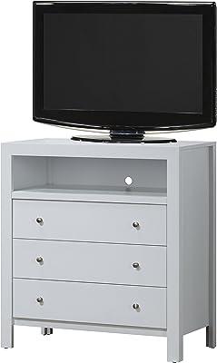 Amazon Com Home Styles Bermuda Tv Media Stand White
