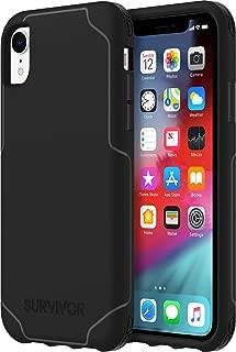 Griffin GIP-013-CLR Survivor StrongGIP-003-BLK iPhone XR 黑色