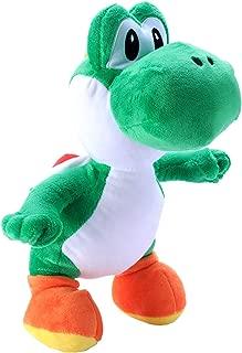 "Toyart Yoshi Plush Toy Super Mario Stuffed Collection, 12"", Green"