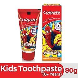 Colgate Anticavity Kids Batman Toothpaste (6+ years), Bubble Fruit flavour – 80g