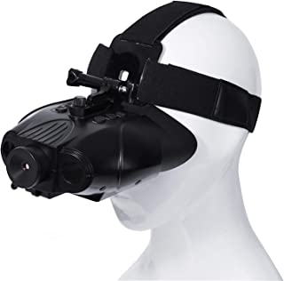 X-Vision Deluxe Rechargeable Digital Hands Free Night Vision Goggles, see 350 yards at night