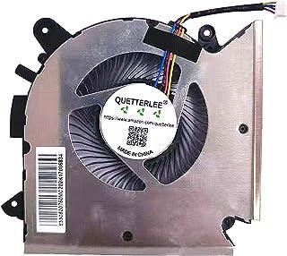 QUETTERLEE Replacement New CPU Cooling Fan for MSI GF63 Thin GF63 Thin 9RCX-818 9SC-066 8SC-030 GF65 Thin 9SD-004 9SEXR-25...