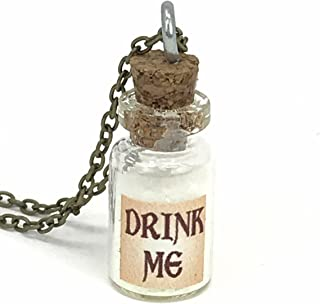 Best drink me bottle necklace Reviews