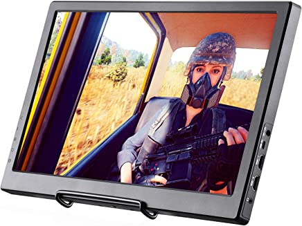 $139 » Basense Portable Monitor 15.6 inch Full HD 1920x1080 IPS Screen Gaming Monitor with 2 HDMI, Audio Output, USB Powered, Built-in Speakers,for Raspberry pi 1 2 3 ps3/ps4 Xbox ONE S Laptop Window 7 8 10