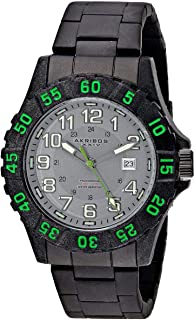 Akribos Xxiv Men'S Stainless Steel Band Watch