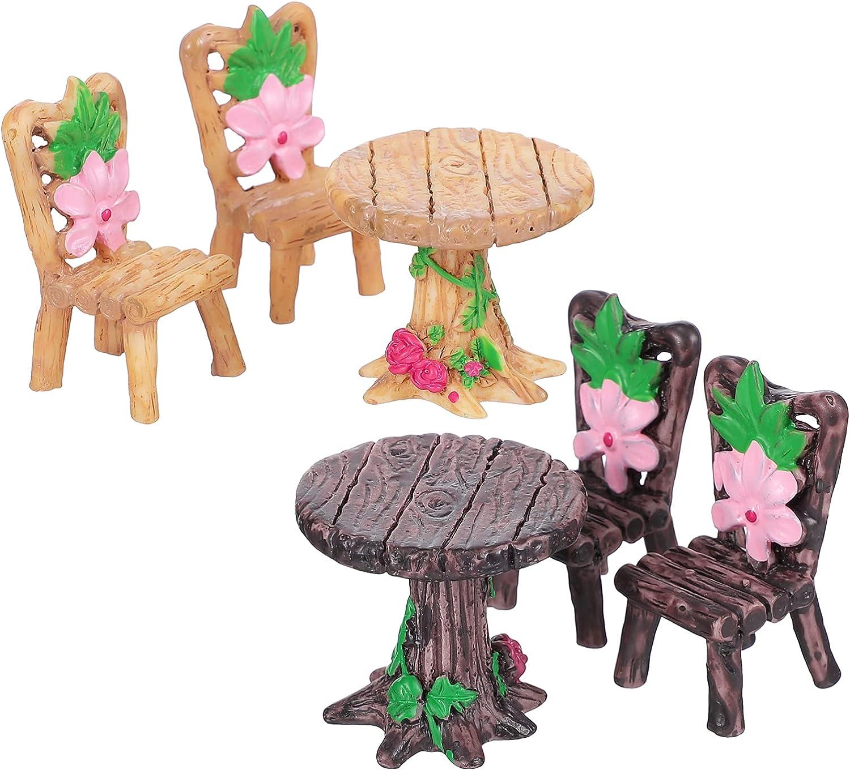 Rapid rise YARNOW security 2 Sets Fairy Ornaments Garden Furniture Furn
