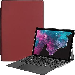 FanTing Case for Microsoft Surface Pro 4/Pro 5/Pro 6/Pro 7 Tablet,Ultra Slim Lightweight Smart Shell Stand Cover Case,Prem...