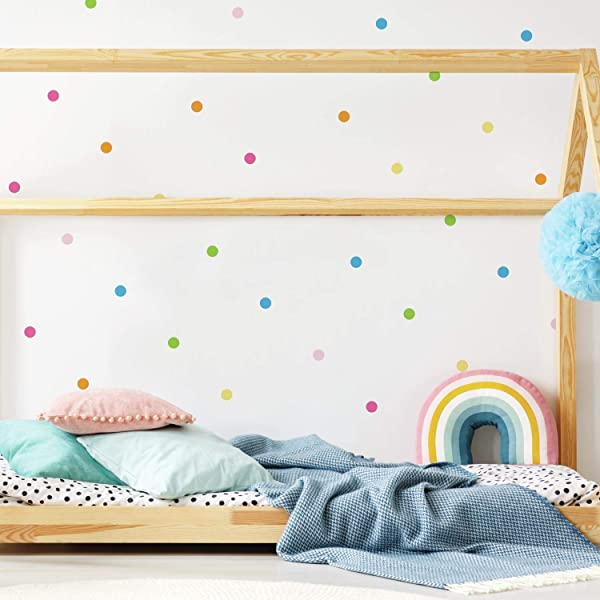 RoomMates Pastel Dot Peel And Stick Wall Decals