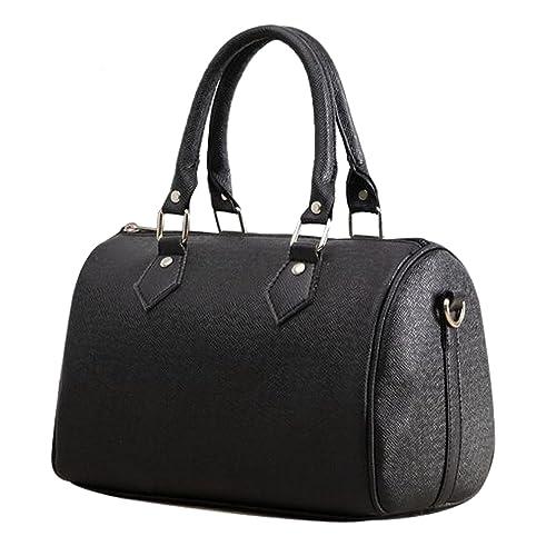 2732068d7a58 Vincenza Designer Large Womens Vintage Faux Leather Style Summer Tote  Shoulder Grab Handbag Bowler