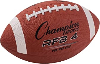 Champion Sports Rubber Football – Multiple Sizes